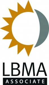 Proud member of the LBMA