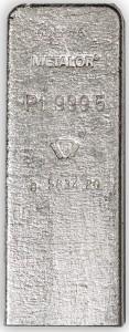 Platinum in 50 ounce bars   BMG Bullion Products
